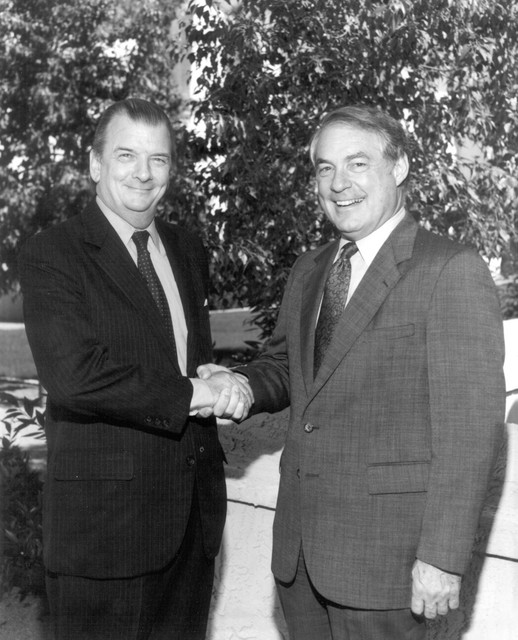 John B. Evans and Bob McGrail